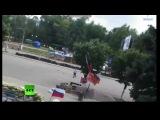 Луганск: Обстрел ОГА из Авиации ВВС! (18+) 02.06.14