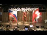Показательное выступление учеников школы бальных танцев